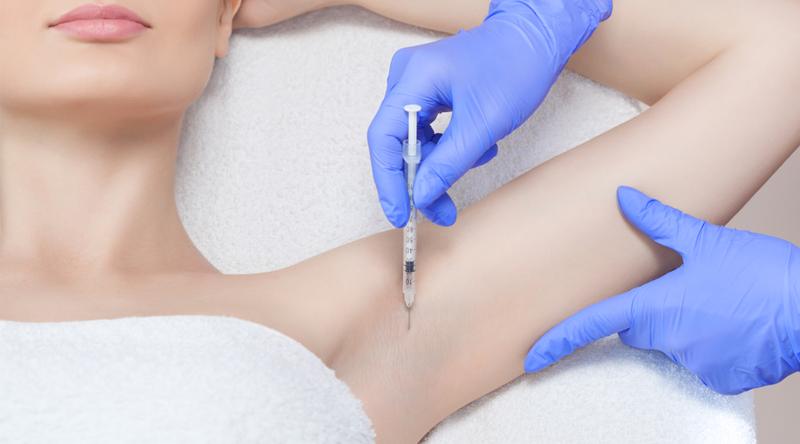 traitement transpiration excessive botox